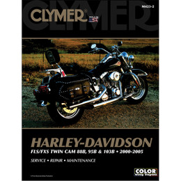 Clymer M250 Service Shop Repair Manual Harley FLS/FXS/FXC