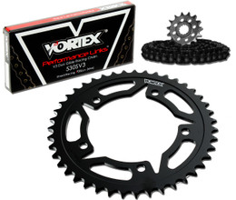 Vortex CK6153 Chain and Sprocket Kit WSS YAM YZF-R1 09-14 (STK,STL)
