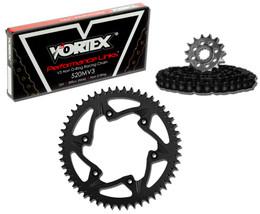 Vortex CK4211 Chain and Sprocket Kit MXA KAW KX250 99-01 (1U,ALU)