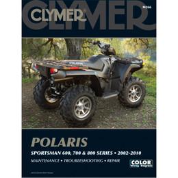Clymer M366 Service Shop Repair Manual Polaris Sportsman 600 / 700 / 800 02-10