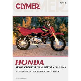 Clymer M319-3 Service Shop Repair Manual Honda XR50R CRF50F XR70R CRF70F 97-09