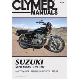 Clymer M370 Service Shop Repair Manual Suzuki GS750 Fours 77-82