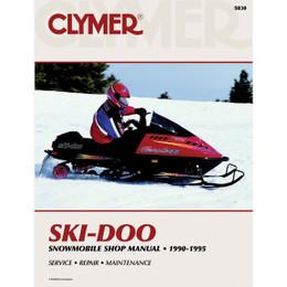 Clymer S830 Service Shop Repair Manual Ski-Doo Snowmobile 90-95
