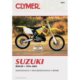 Clymer M401 Service Shop Repair Manual Suzuki RM250 1996-2002