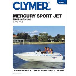 Clymer W815 Service Shop Repair Manual Merc Powered Sport Jet