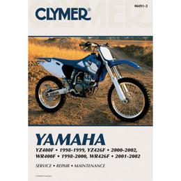 Clymer M491-2 Service Shop Repair Manual YZ400F 98-99 / YZ426F 00-02 / WR400F