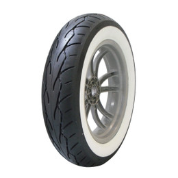 Vee Rubber VRM302 White Wall Front Tire MT90 B16 FT