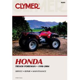 Clymer M205 Service Shop Repair Manual Honda TRX450 Foreman 1998-2004