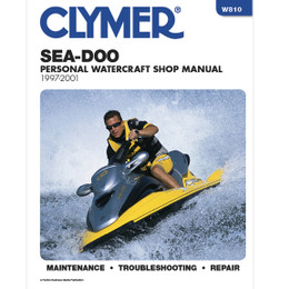 Clymer W810 Service Shop Repair Manual Sea-Doo Water Vehicles 1997-20