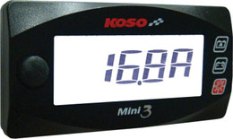 Koso Mini 3 Amp & Volt Meter - BA003190