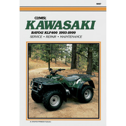Clymer M467 Service Shop Repair Manual Kawasaki KLF400 Bayou 1993-1999