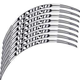 Pro Grip 5026 Wheel Rim Strips Stickers White