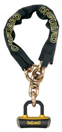 OnGuard 8019LP Mastiff Hex Chain Lock 4.22' x 10mm