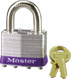 "MASTER LOCK LAMINATED STEEL PADLOCK 1.75"" (1D)"