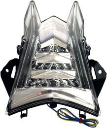Dmp Powergrid Tail Light (Clear) - 905-7739