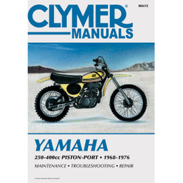 Clymer M415 Service Shop Repair Manual Yamaha 250-400cc Pstn-Port 68-76