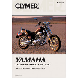 Clymer M395-10 Service Shop Repair Manual XV535-1100 Virago 1981-2003