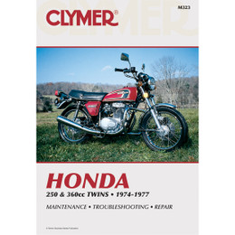 Clymer M323 Service Shop Repair Manual Honda 250 / 360cc Twins 74-77