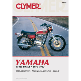 Clymer M403 Service Shop Repair Manual Yamaha 650cc Twins 70-82