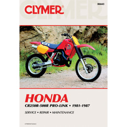Clymer M443 Service Shop Repair Manual Honda CR250-500R Pro-Link 81-87