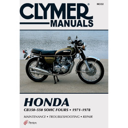 Clymer M332 Service Shop Repair Manual Honda 350-550cc Fours 72-78
