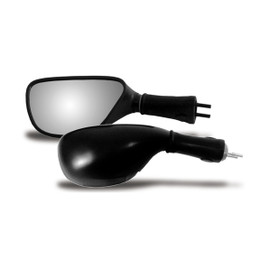 EMGO OEM Replacement Mirror for 98-02 Kawasaki ZX600R/900R Right Side Black