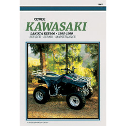Clymer M470 Service Shop Repair Manual Kawasaki KEF300 Lakota 1995-1999