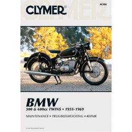 Clymer M308 Service Shop Repair Manual BMW 500 / 600cc Twins 55-69