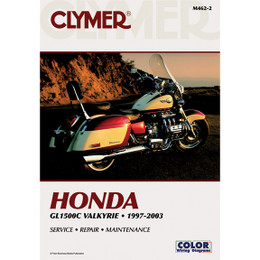 Clymer M462-2 Service Shop Repair Manual Honda GL1500C Valkyrie 1997-2003