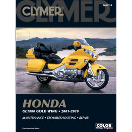 Clymer M507-3 Service Shop Repair Manual Honda 1800 Gold Wing 2001-2010