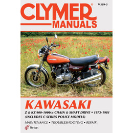Clymer M359-3 Service Shop Repair Manual Kaw Z / KZ 900-1000 Chain / Shaft 73-81