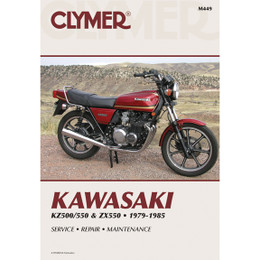 Clymer M449 Service Shop Repair Manual Kawasaki KZ500/550 / ZX550 79-85