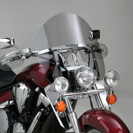 National Cycle Switchblade Windshield Chopped (Clear) - N21403
