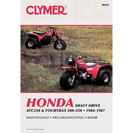 Clymer M455 Service Shop Repair Manual Honda ATC250/4Trax 200-250 84-87