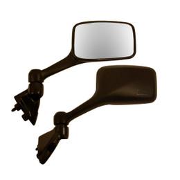 EMGO OEM Replacement Mirror for 96-07 Kawasaki EX250R Ninja Left Side Black