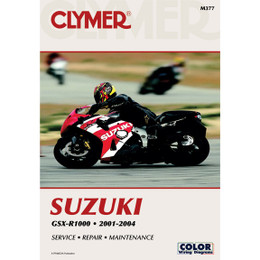 Clymer M377 Service Shop Repair Manual Suzuki GSX-R1000 2001-2004
