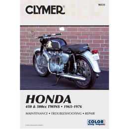 Clymer M333 Service Shop Repair Manual Honda 450 / 500cc Twins 65-77
