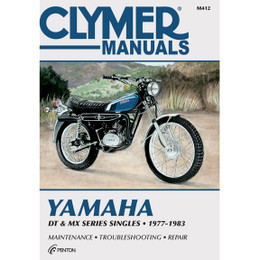 Clymer M412 Service Shop Repair Manual Yamaha DT / MX Series Sngls 77-83
