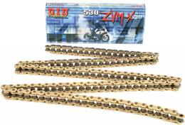 D.I.D Super Street 530Zvmx-120 X-Ring Chain (Gold) - 530VMX-120 GOLD