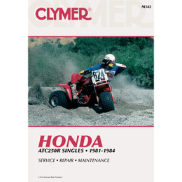 Clymer M342 Service Shop Repair Manual Honda ATC250R Singles 81-84