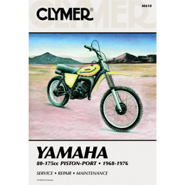 Clymer M410 Service Shop Repair Manual Yamaha 80-175cc Piston-Port 68-76