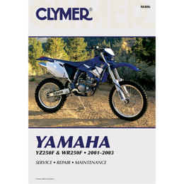 Clymer M406 Service Shop Repair Manual Yamaha YZ/WR250F 2001-2003