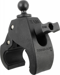"Ram Large Tough-Claw W/1"" Diameter Rubber Ball - RAP-B-401U"