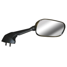 EMGO OEM Replacement Mirror for 06-07 Yamaha YZF-R6W Right Side Black (20-37421)