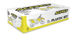Acerbis Full Plastic Kit (Black) - 2403090001