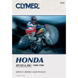 Clymer M326 Service Shop Repair Manual Honda ATC185 / 200 80-86