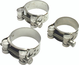 Drc Stainless Exhaust Clamp 44Mm-47Mm - D31-32-440