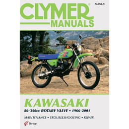 Clymer M350-9 Service Shop Repair Manual Kawasaki 80-3500cc Rotary Valve 96-01