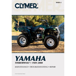 Clymer M489-2 Service Shop Repair Manual Yamaha Timberwolf 1989-2000