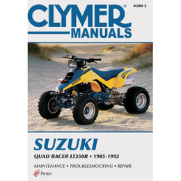 Clymer M380-2 Service Shop Repair Manual Suzuki Quad Racer LT250R